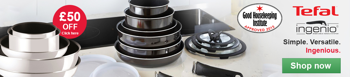 Tefal ingenio. Simple.Versatile. Ingenious