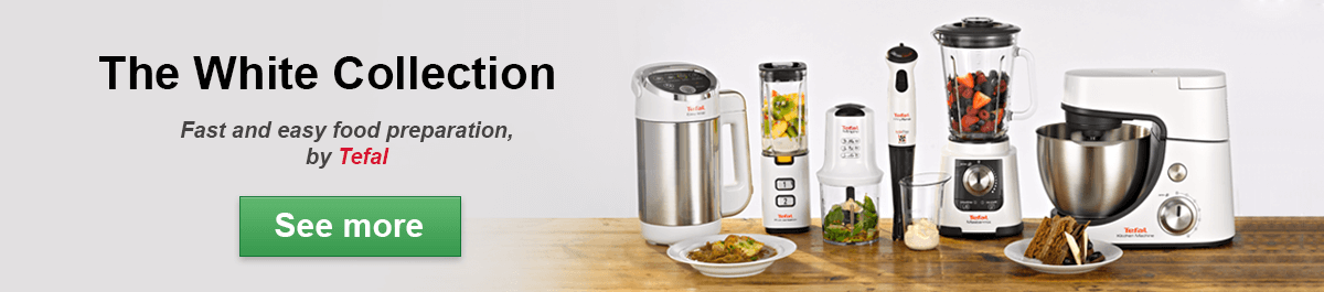 New - The White Collection by Tefal