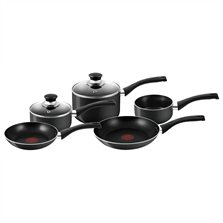 Bistro Black Lacquered 5 Piece Set