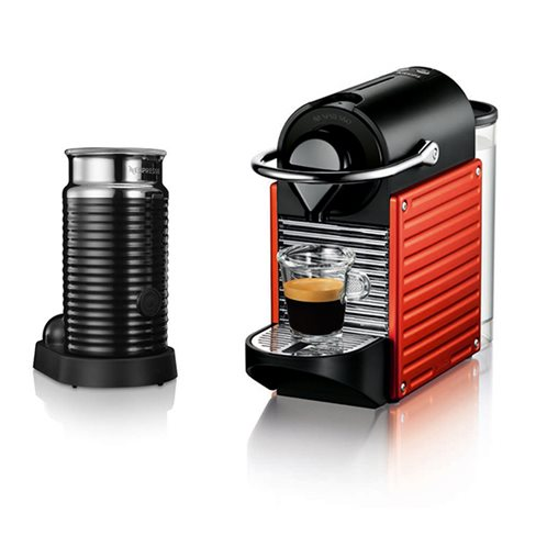 KRUPS Nespresso Pixie Bundle Red