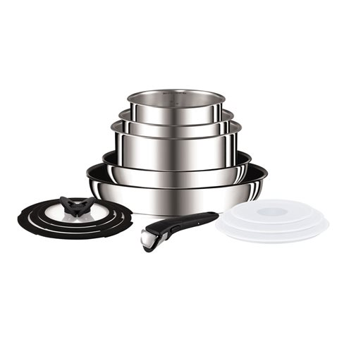 Ingenio stainless steel 13 piece complete set l9409042 - Tefal raclette grill john lewis ...